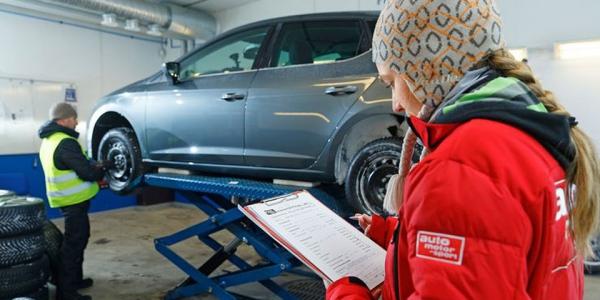 Auto Motor und Sport montage van de all season bandentest 2018