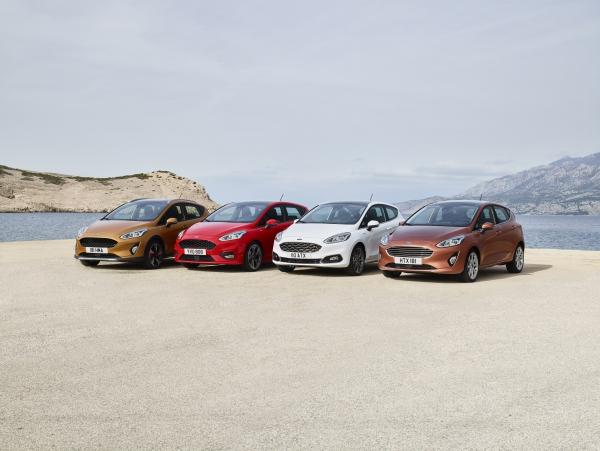 Banden en bandenmaten voor de Ford Fiesta modellen