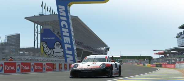 24 uur van Le Mans op een virtueel circuit: Michelin doet aan virtueel autoracen