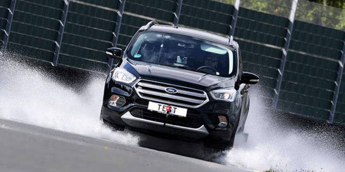 ADAC SUV zomerbandentest 2020: grip op nat wegdek