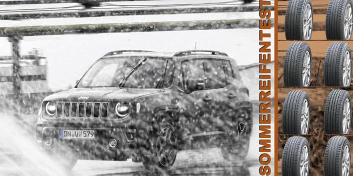 SUV Zomerbandentest: vergelijkende test van Auto Bild 2021