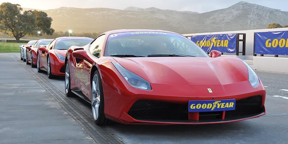 Ferrari 488 GTB Goodyear Ascari