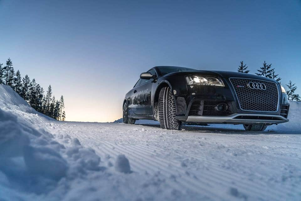 Nokian WR A4 onder de Audi RS5