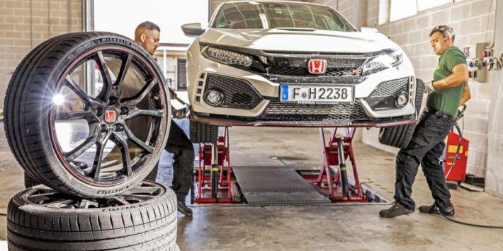 Test banden UHP Sport Auto Honda Civic Type R